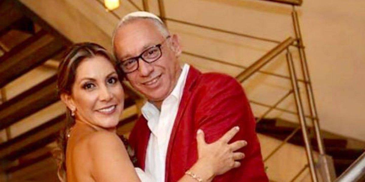 Mauricio Israel se casó por tercera, pero al parecer no quiso regalos: prefirió que sus invitados le dieran dinero en efectivo