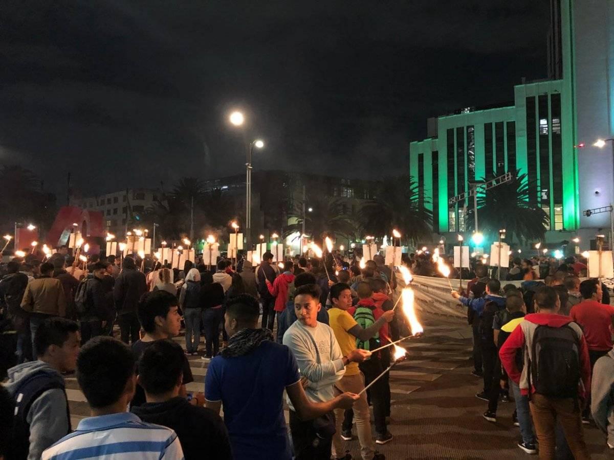 Este 26 de septiembre se cumplen cuatro años de la desaparición de los 43 normalistas de Ayotzinapa Foto: Comunicación Intinerante