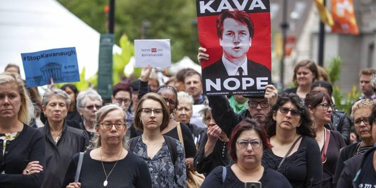 Republicanos se alinean con Kavanaugh ante denuncias