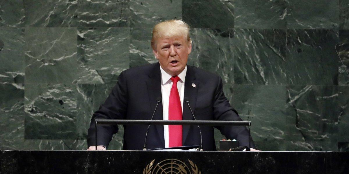 """""""El socialismo ha arruinado a esta nación"""": Trump calificó la crisis en Venezuela de """"tragedia humana"""" ante la ONU"""