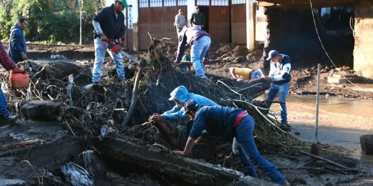 Se eleva a 7 el número de muertos en Michoacán por desbordamientos