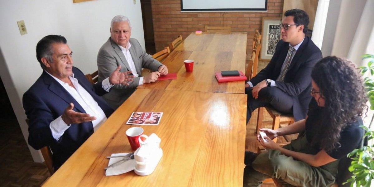 'El Bronco' pide recursos a próximos secretarios de AMLO