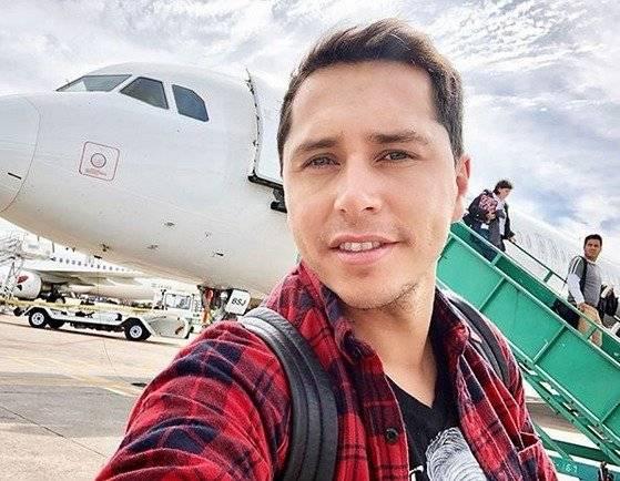 Karol Lucero viajó ayer a Argentina