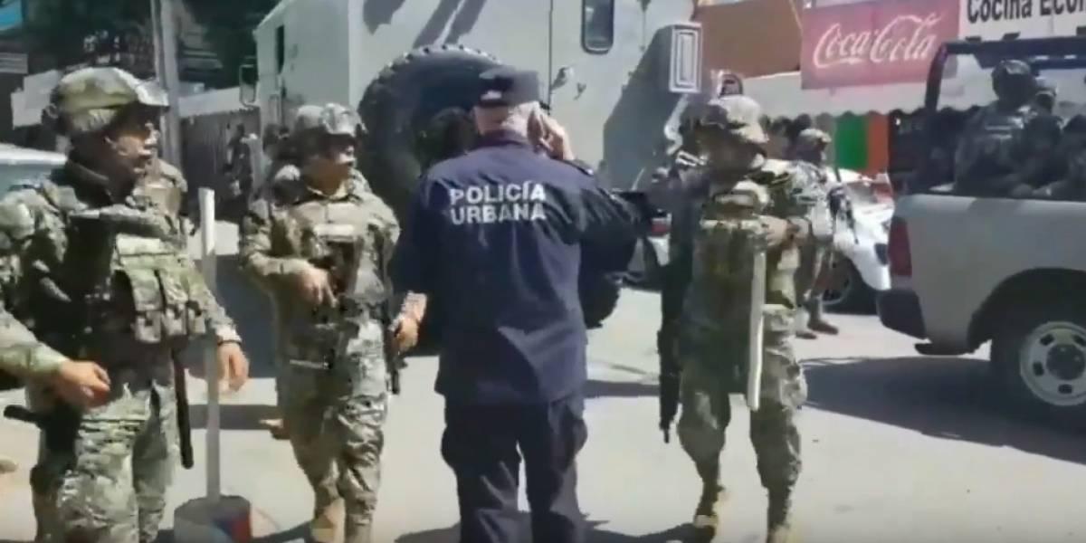 Fuerzas federales y estatales toman control de la policía de Acapulco
