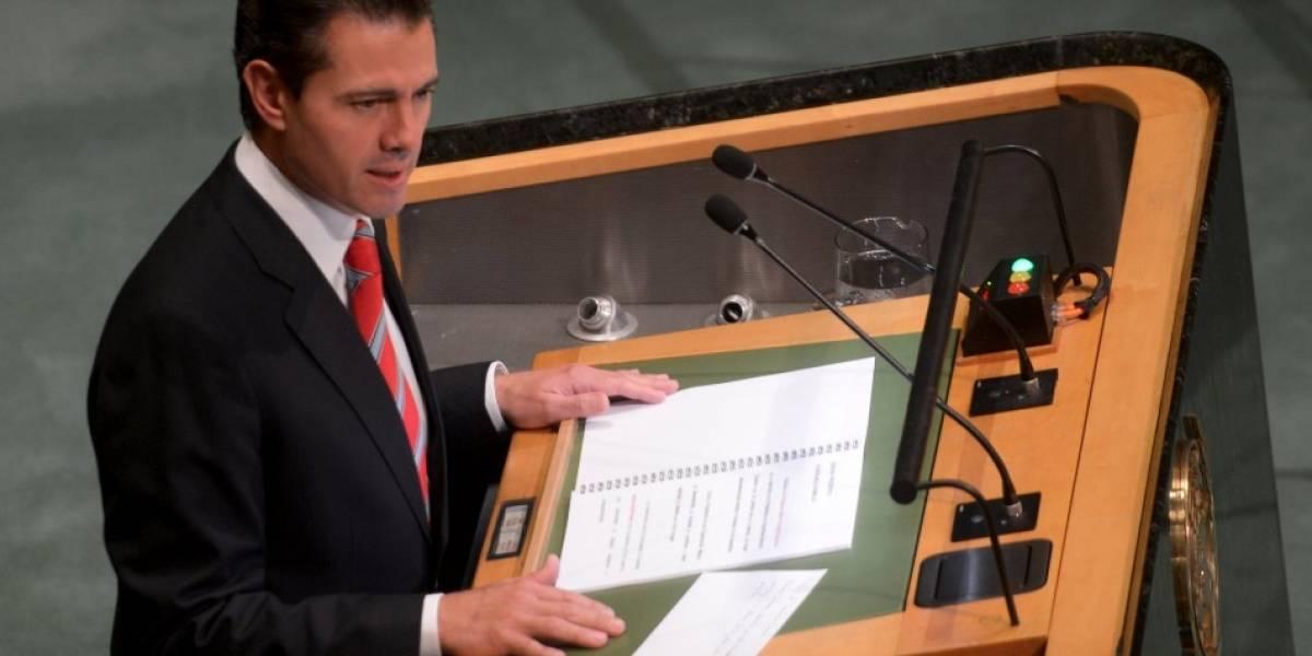 Estas fueron las cuatro cosas que Peña Nieto le pidió a la ONU
