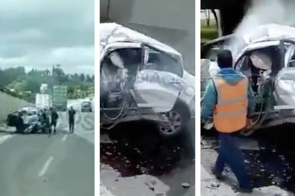 Trágico accidente en la Autopista Norte deja al menos una persona sin vida