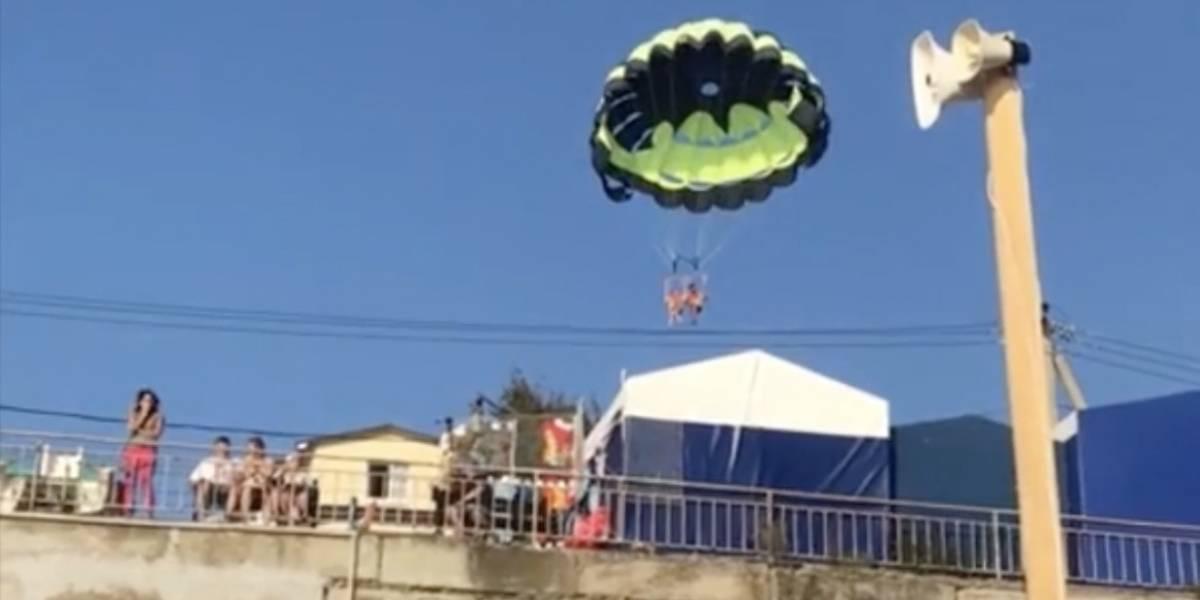 Youtuber muere al intentar grabarse saltando en paracaídas