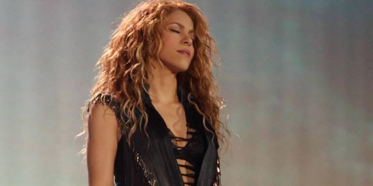 Shakira es blanco de críticas por pasear sin brasier