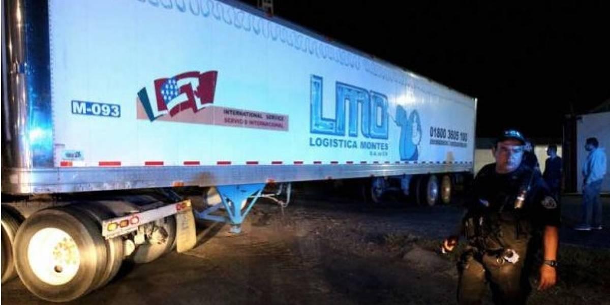 México: Sepultaron 21 cuerpos que estaban almacenados en un tráiler