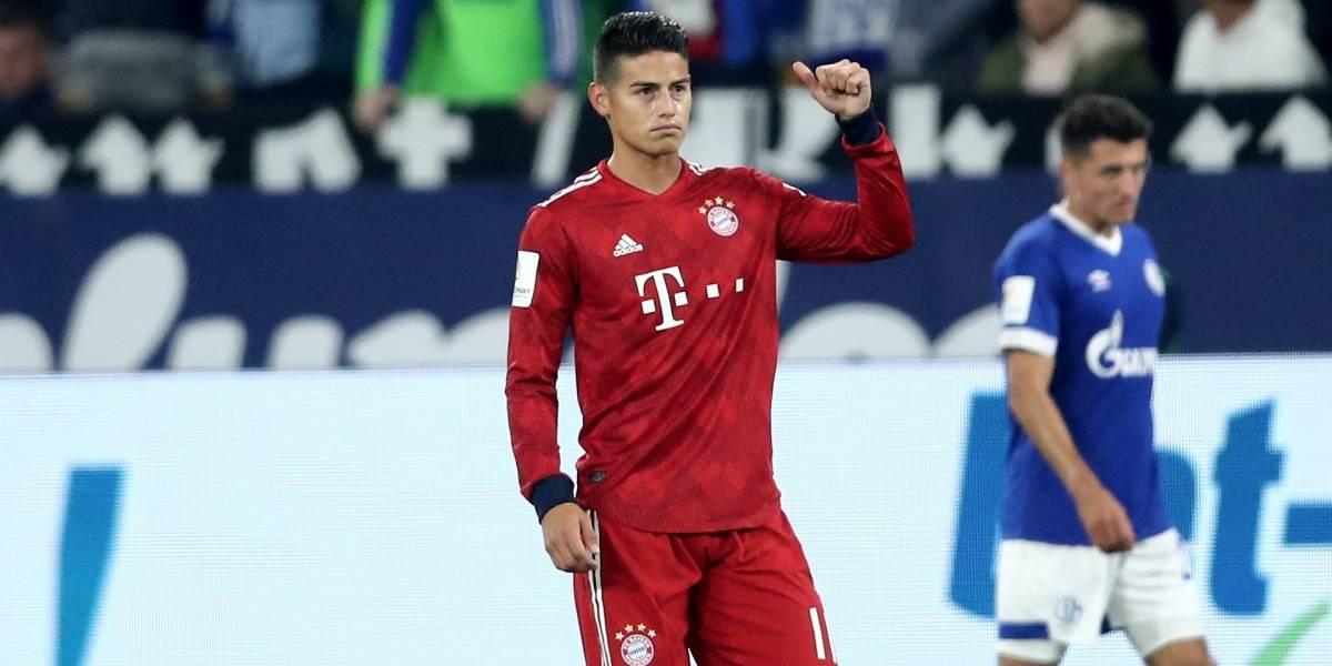 ¿Festeja James? Bayern Múnich sueña con contratar a una estrella del Mundial