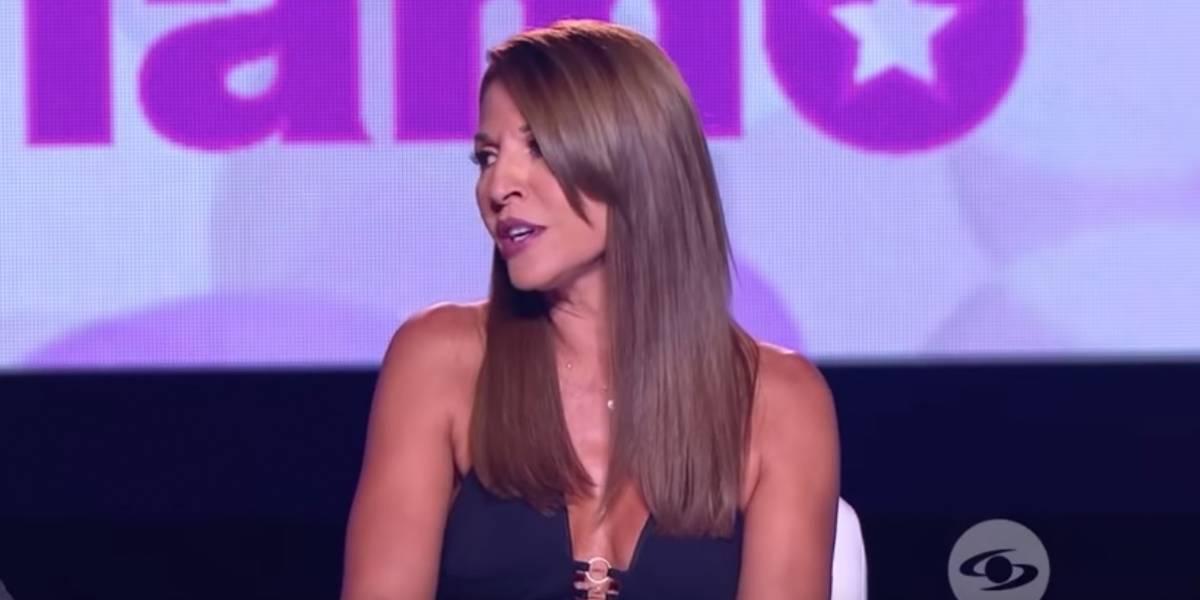 Amparo Grisales intentó imitar a Shakira en 'Yo me llamo', y así le fue