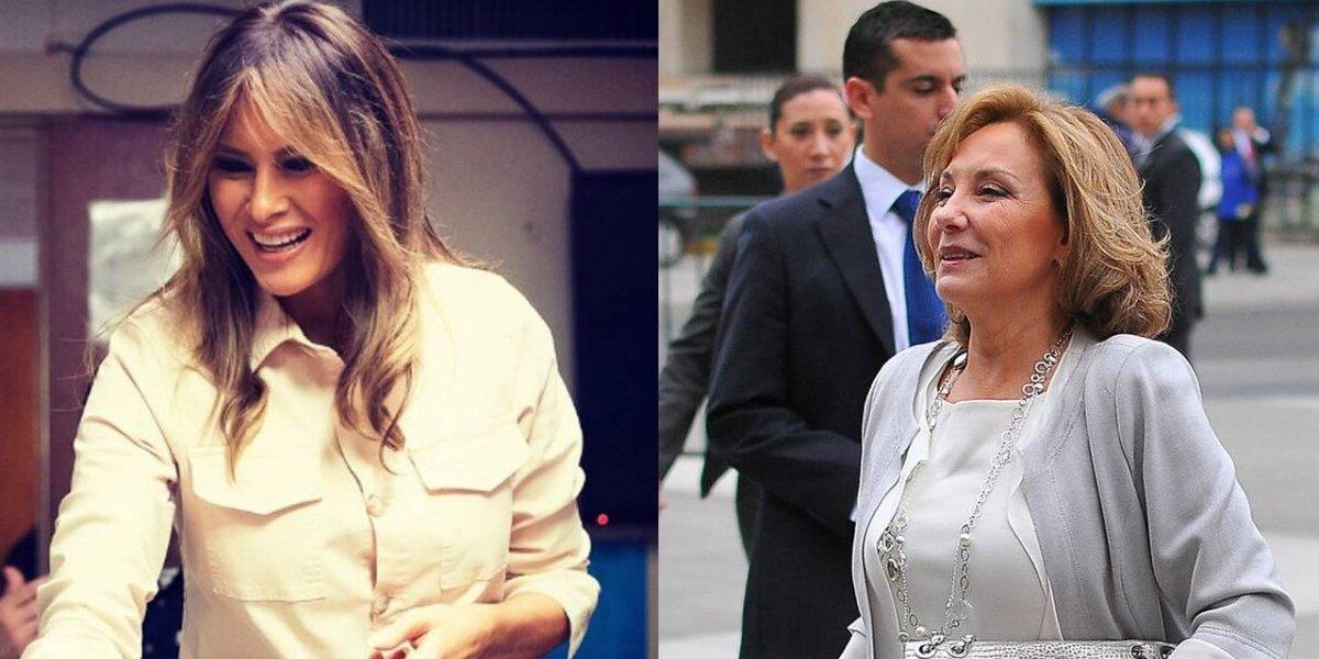 Melania Trump y Cecilia Morel mantendrán un encuentro en Nueva York