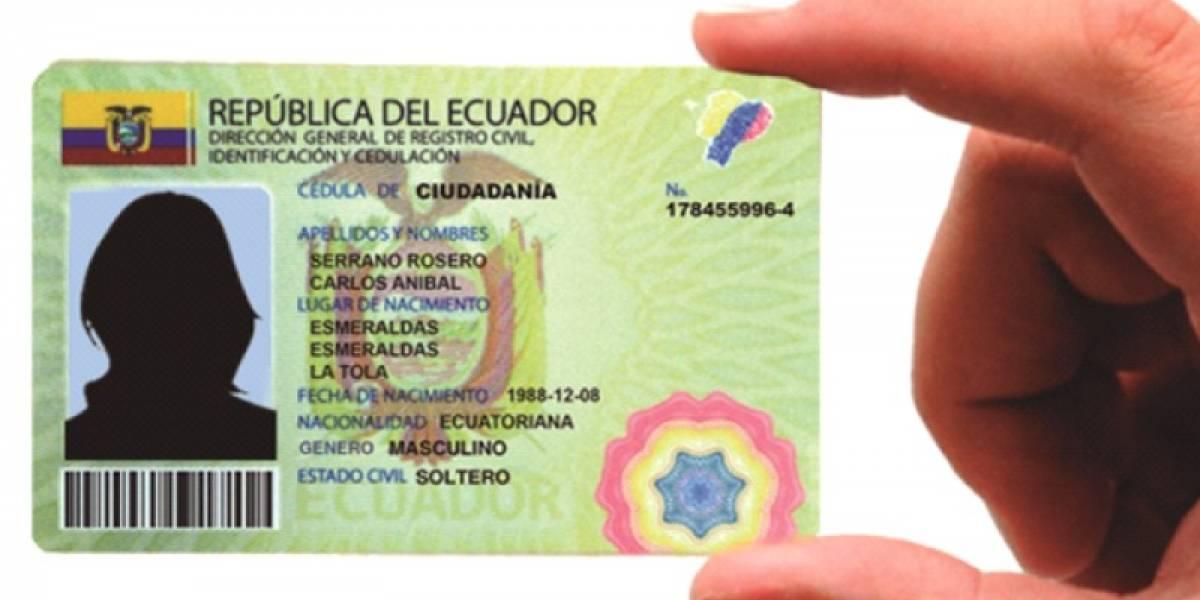 ¿Cómo sacar la cédula de ciudadanía en Ecuador?