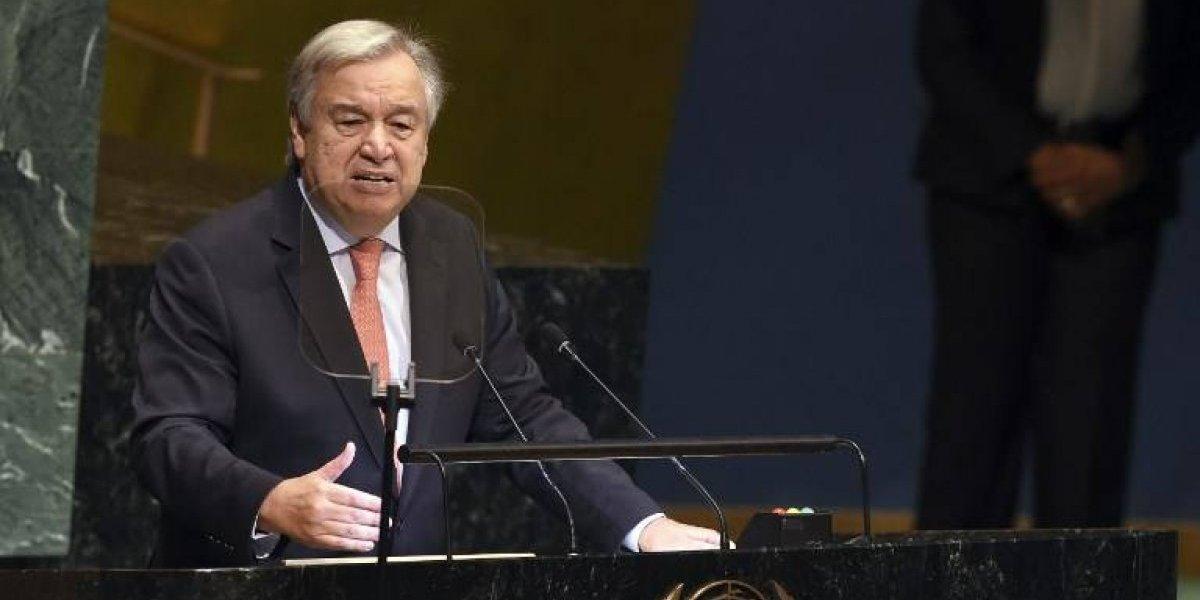 Asamblea de la ONU: Guterres traza un panorama negro del estado del planeta