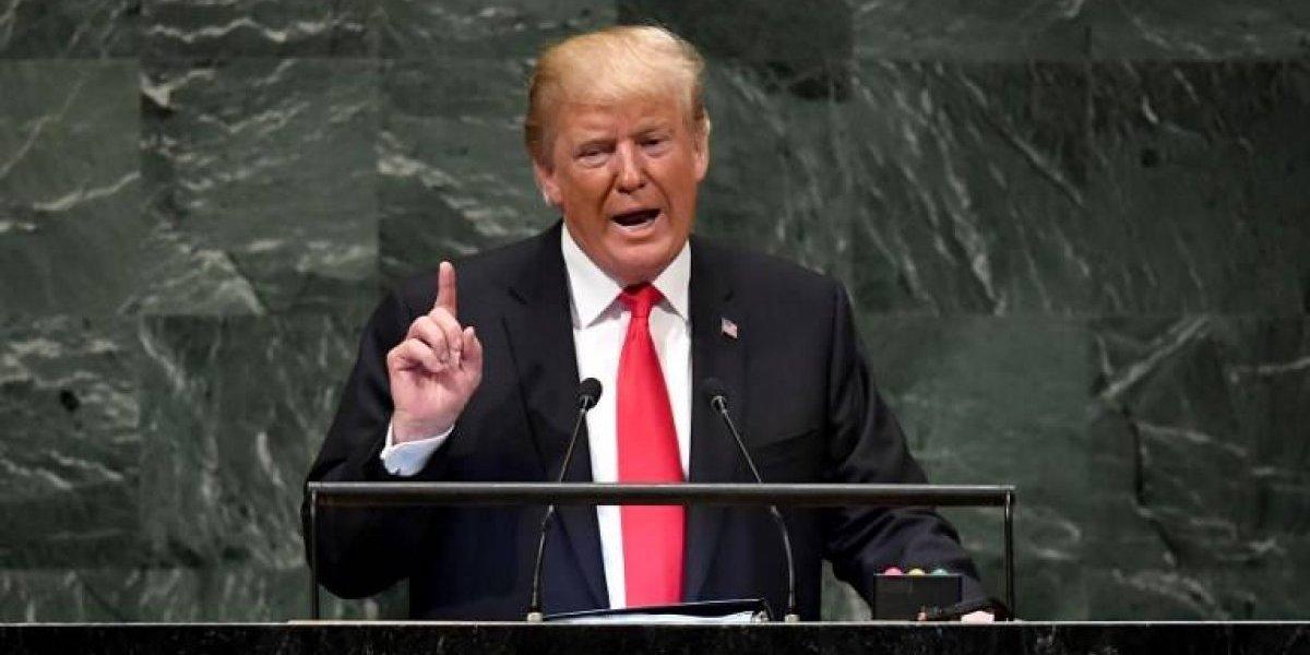 """Trump en la ONU: """"Hay que aislar a Irán mientras continúe su agresión"""""""