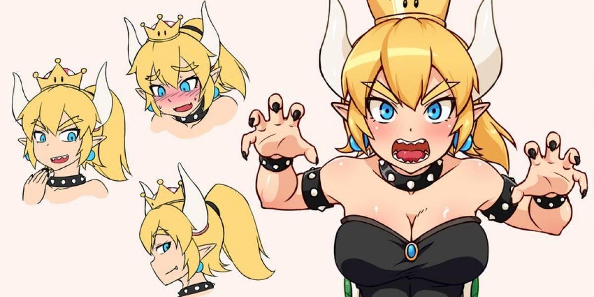 """Fans de Nintendo crearon a """"La Princesa Bowser"""", y el tema se está saliendo de control"""