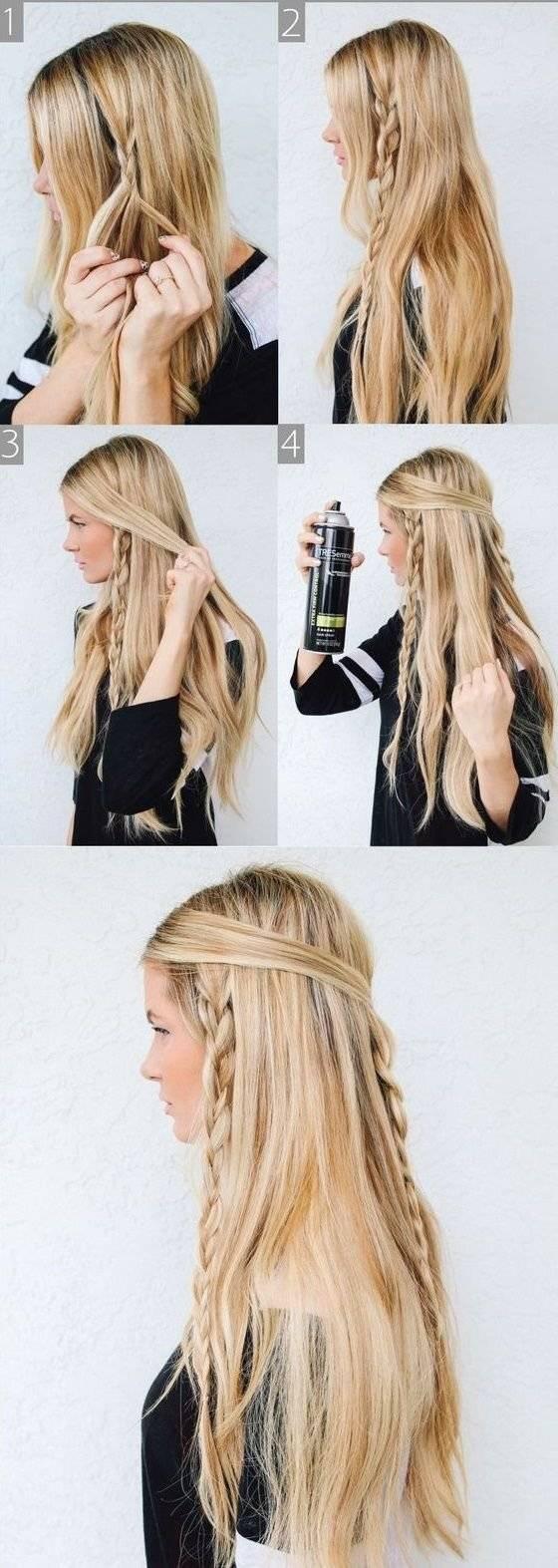 5 Peinados Faciles Con Trenzas Para Cuando No Sabes Que Hacer Con Tu
