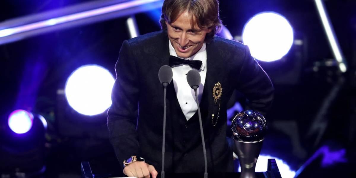 """En Barcelona ningunean a Luka Modric como el mejor del mundo: """"The Best es Messi… y punto"""""""