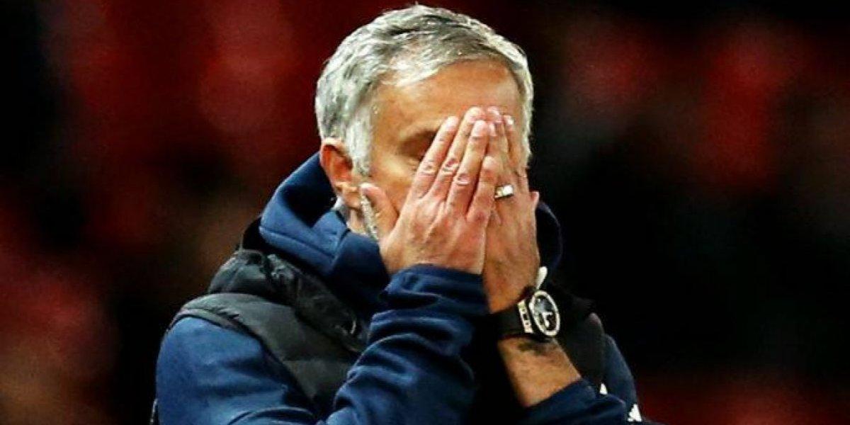 "La prensa inglesa dilapidó a Mourinho por la eliminación del United: Lo tildaron de ""miseria"""