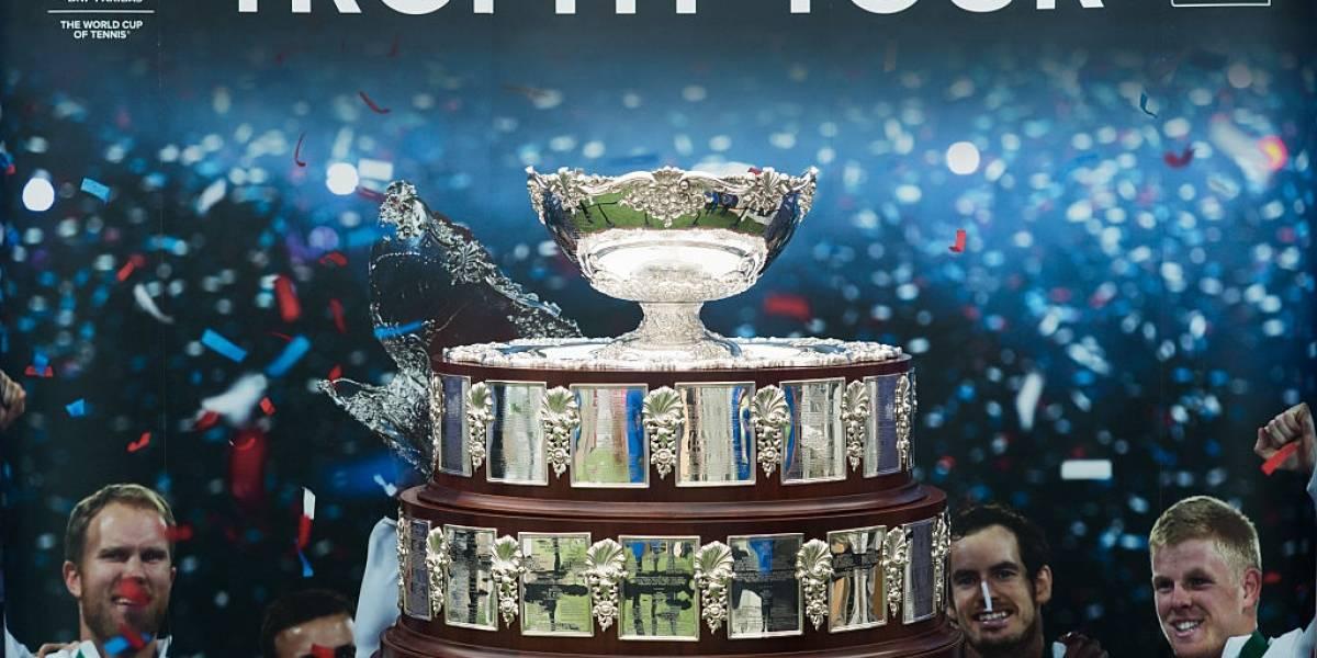 Con nuevo formato y sedes, se sortea la Copa Davis 2019