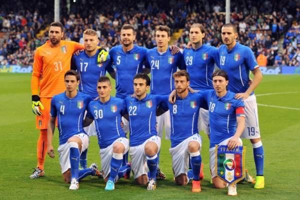 Selección italiana de 2014