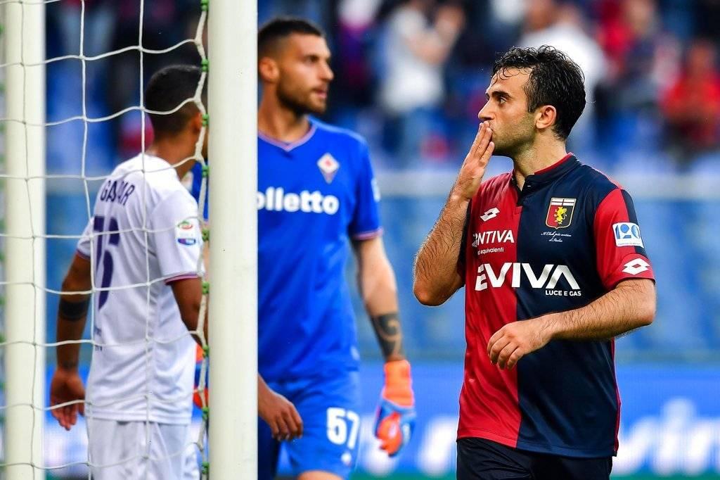 Gol de Giuseppe Rossi con el Genoa