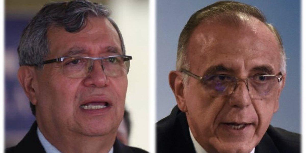 Vicepresidente Jafeth Cabrera insiste en que Iván Velásquez no puede ingresar al país