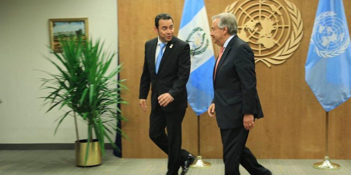 ONU niega acuerdo con el Gobierno para cambiar al jefe de CICIG