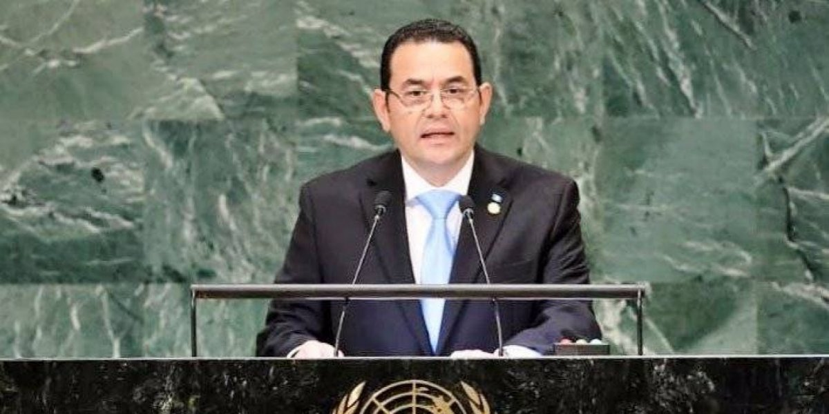 Presidente Jimmy Morales no se presentará ante comisión pesquisidora