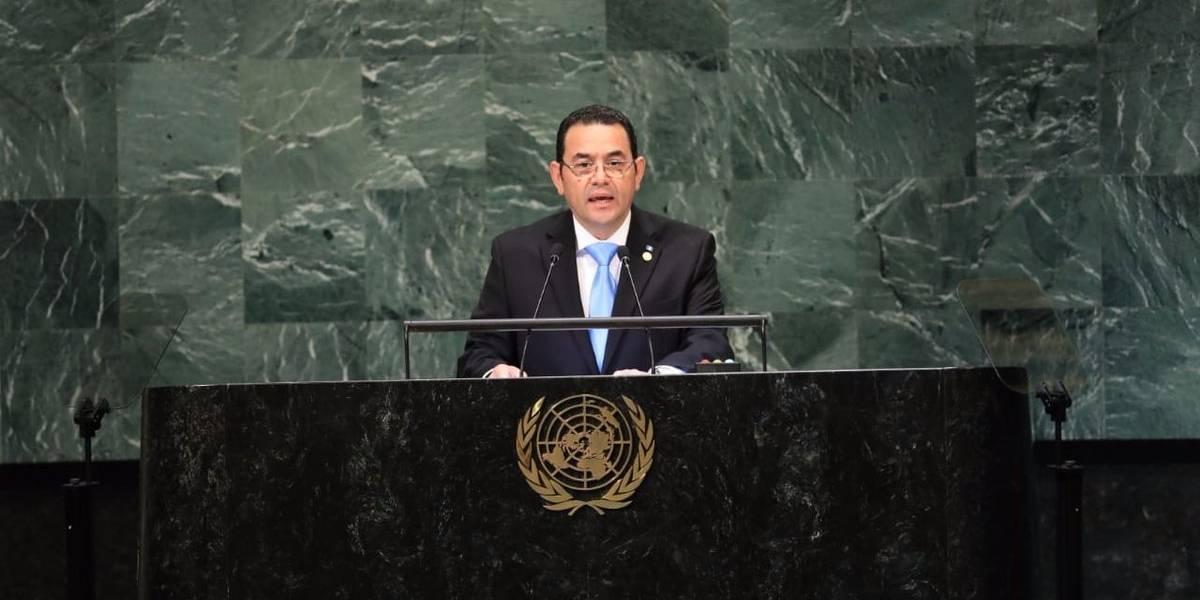 """Morales en la ONU: """"CICIG ha llegado a ser una amenaza para la paz"""""""