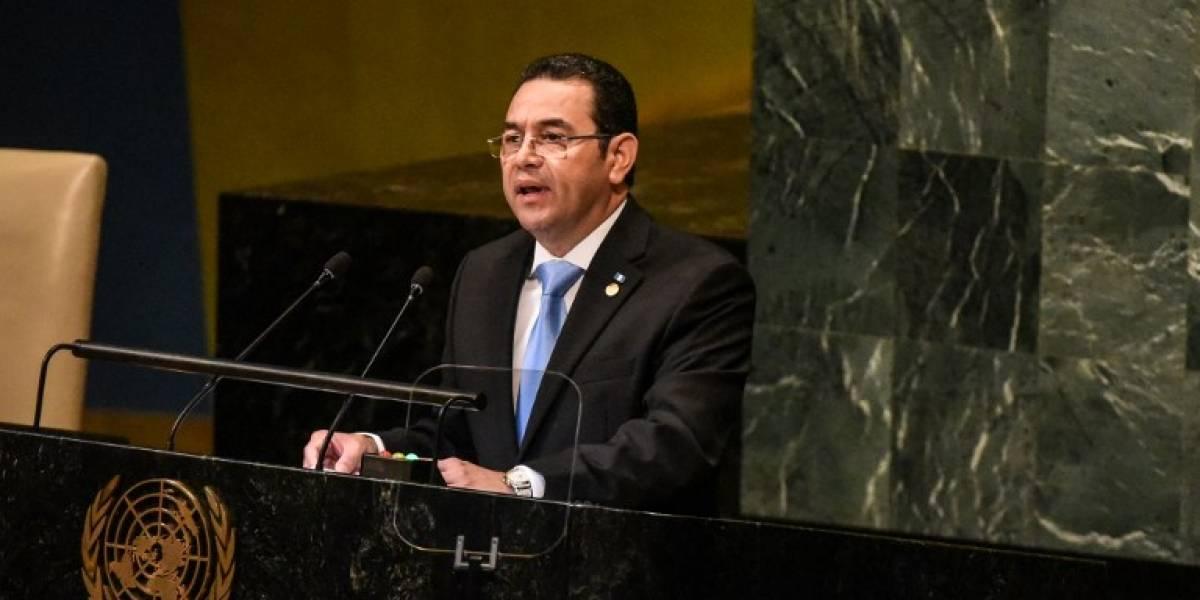 """Morales llamó """"Jueves negros de CICIG"""" a los operativos de nuevos casos de corrupción"""