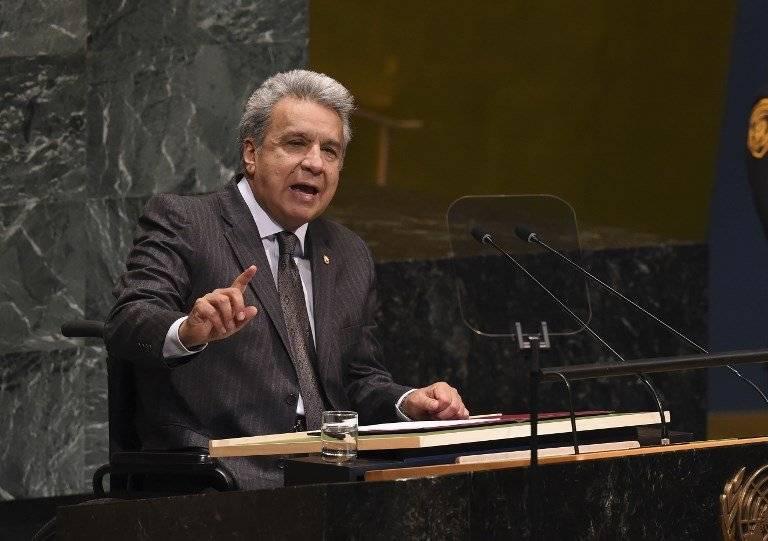 Lenín Moreno ante la ONU