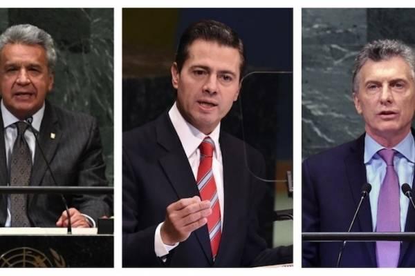 Líderes latinoamericanos ante la ONU