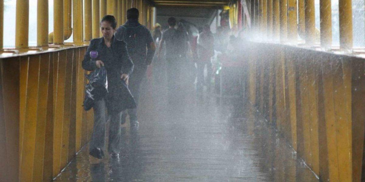 Lluvias en la CDMX afectan a 6 delegaciones