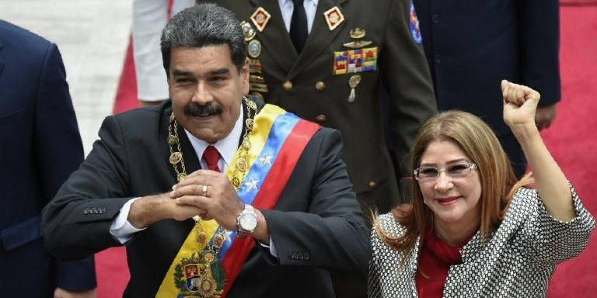 """Maduro tilda de """"cobardes"""" las sanciones de Estados Unidos contra su esposa"""