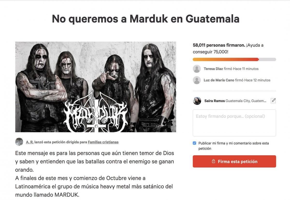 Guatemala prohíbe la entrada a la banda de metal sueca por 'satánica'
