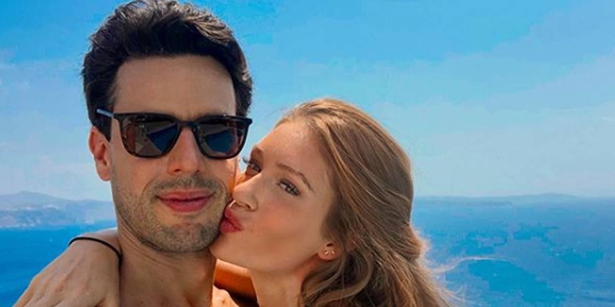 Marina Ruy Barbosa recebe declaração do marido após polêmica com José Loreto