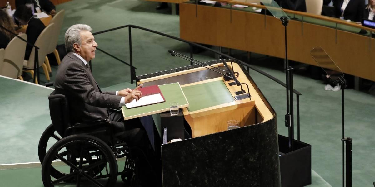 Venezuela dice que presidente Lenín Moreno miente sobre cifra de inmigrantes