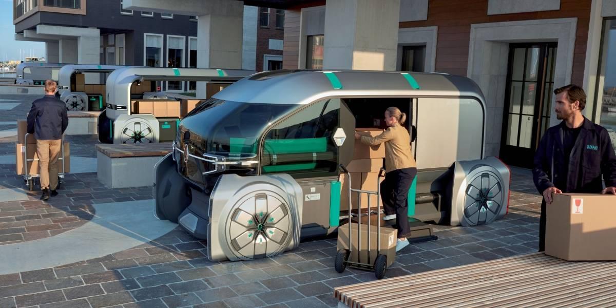 Sistema de reparto urbano autónomo es la apuesta de Renault