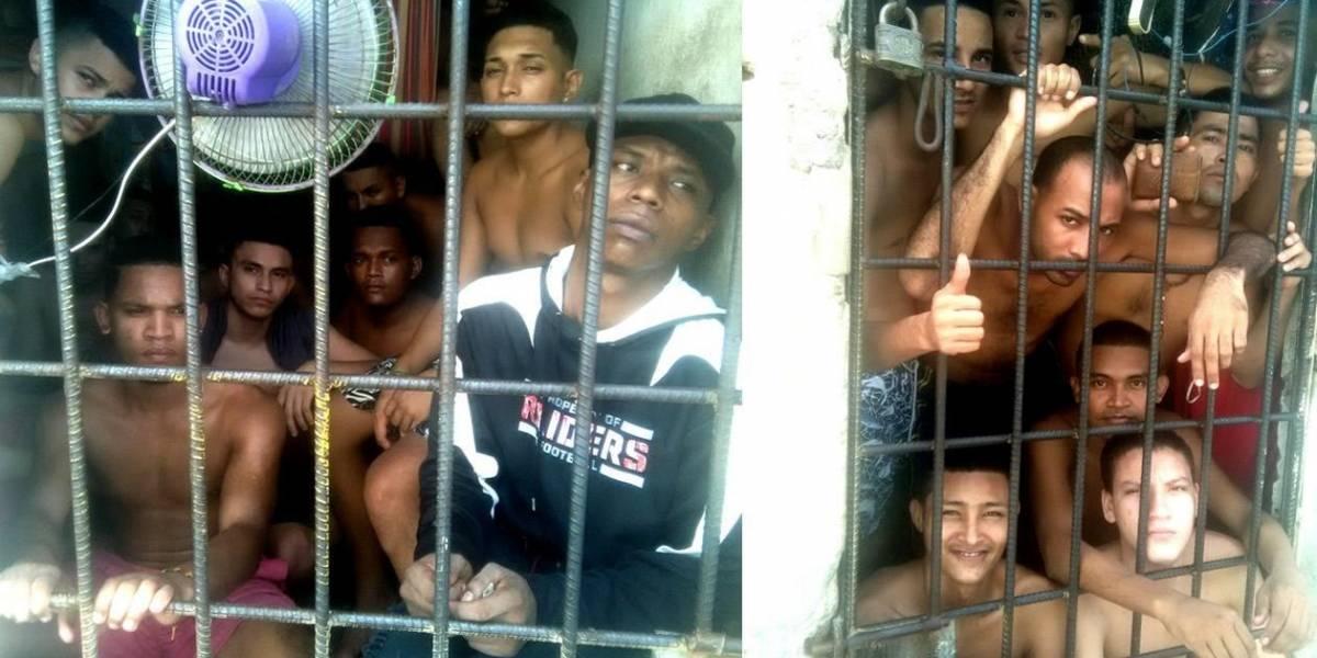 Caben diez reclusos pero hay más de cien: Denuncian sobrecupo de cárcel de pueblo colombiano