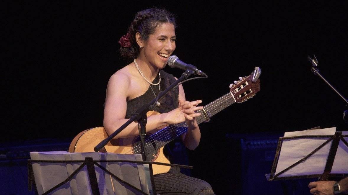 Rosalía cantó a lado de artistas como Haydée Milanés y el trovador-rockero Athanai Cortesía