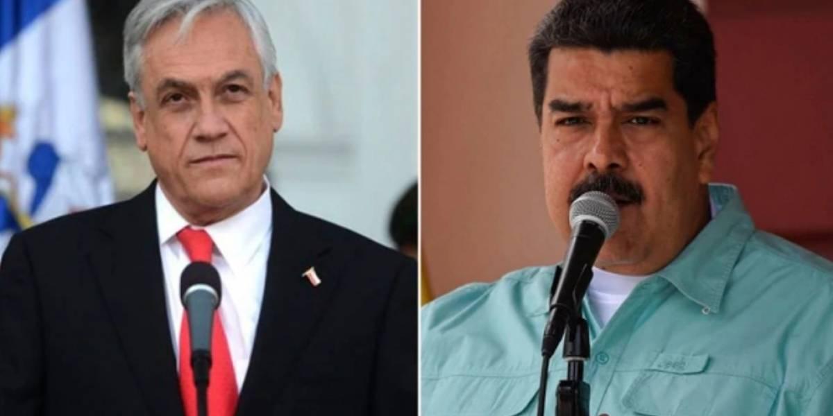 """Maduro insiste: Chile estaría """"involucrado y embarrado"""" en el atentado con drones"""