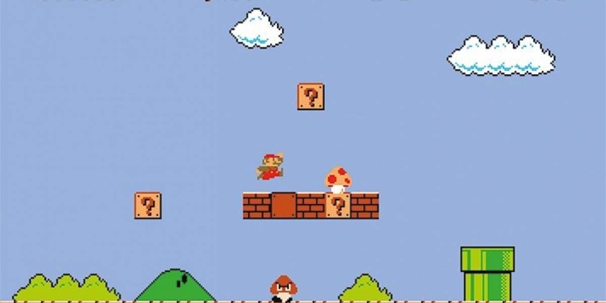 Los Goombas en Mario Bros tienen brazos, pero es difícil encontrarlos