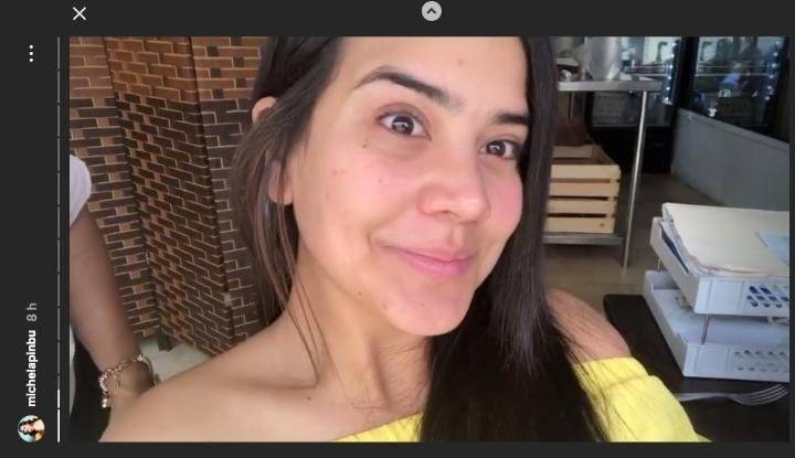 Michela Pincay sin maquillaje Instagram