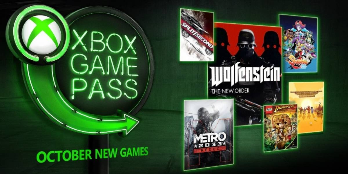 Xbox Game Pass Agregara En Octubre Forza Horizon 4 Wolfenstein Tno