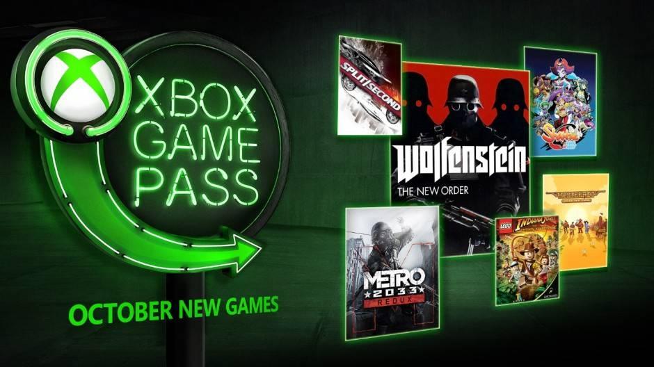Xbox Game Pass agregará en octubre Forza Horizon 4, Wolfenstein TNO, Metro Redux y más