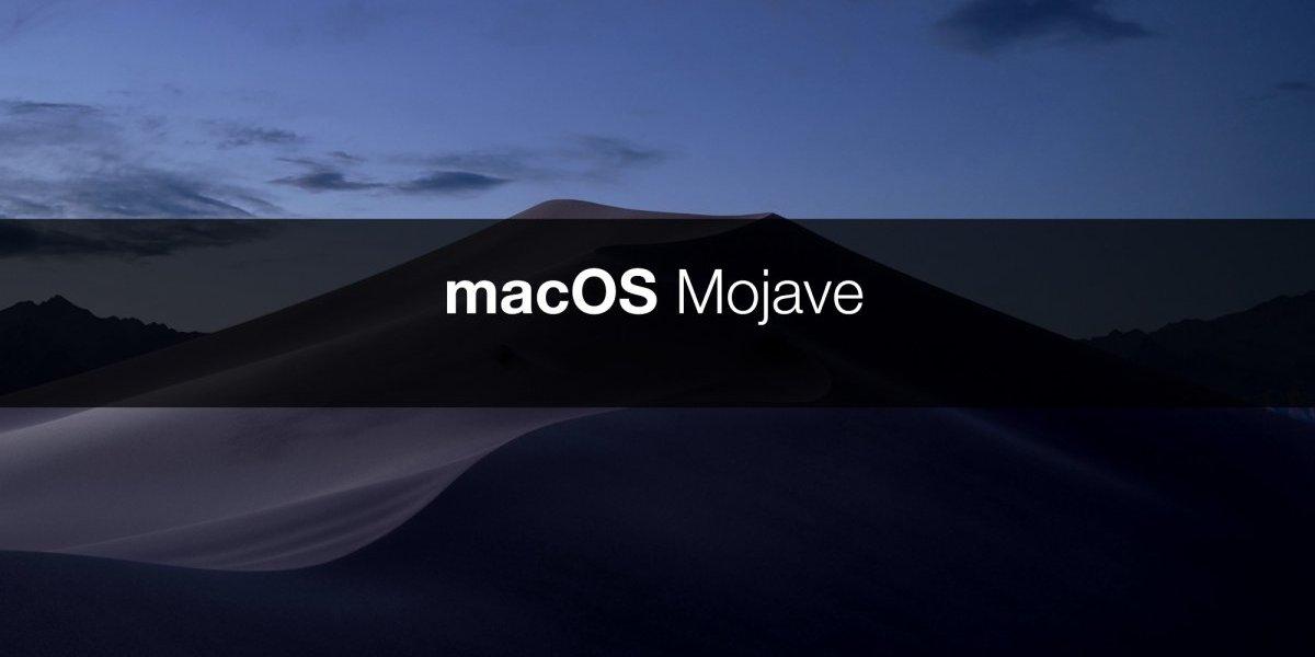 Mojave, el nuevo sistema operativo de Apple
