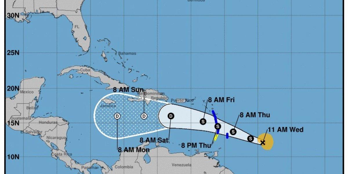Onamet pronostica aguaceros a causa de vaguada mientras vigila tormenta Kirk