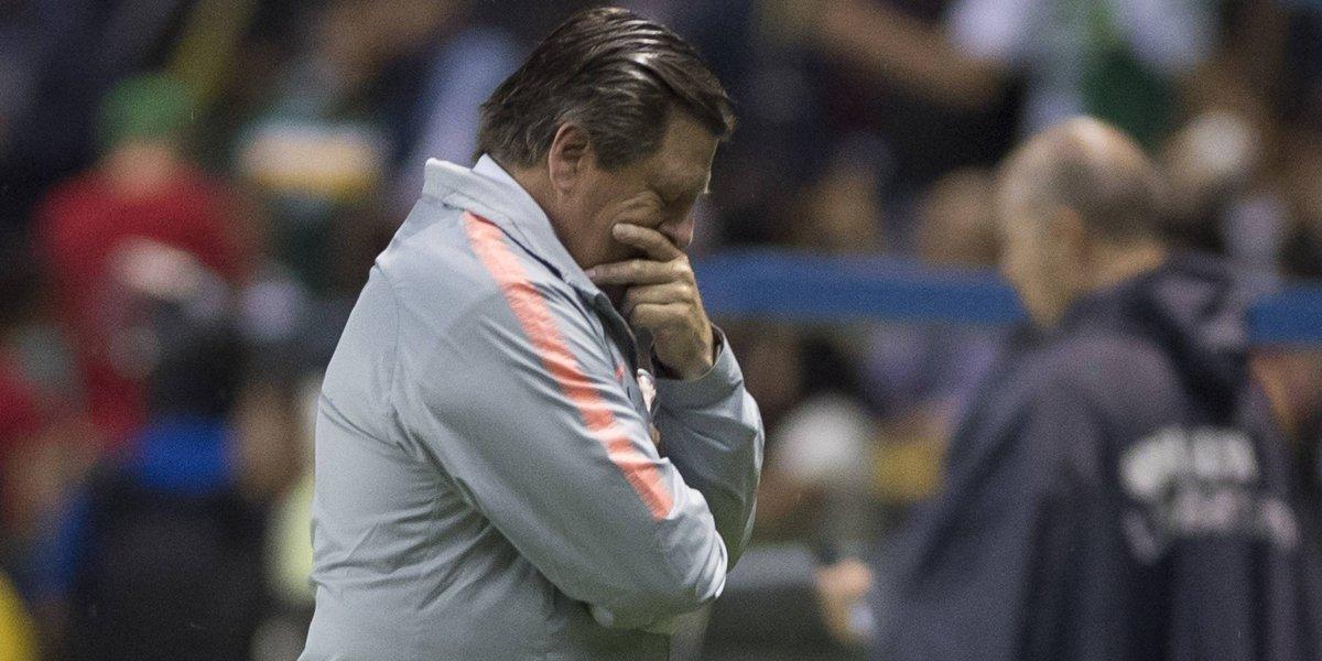 Eliminación de Copa MX se suma a los fracasos del 'Piojo' con América