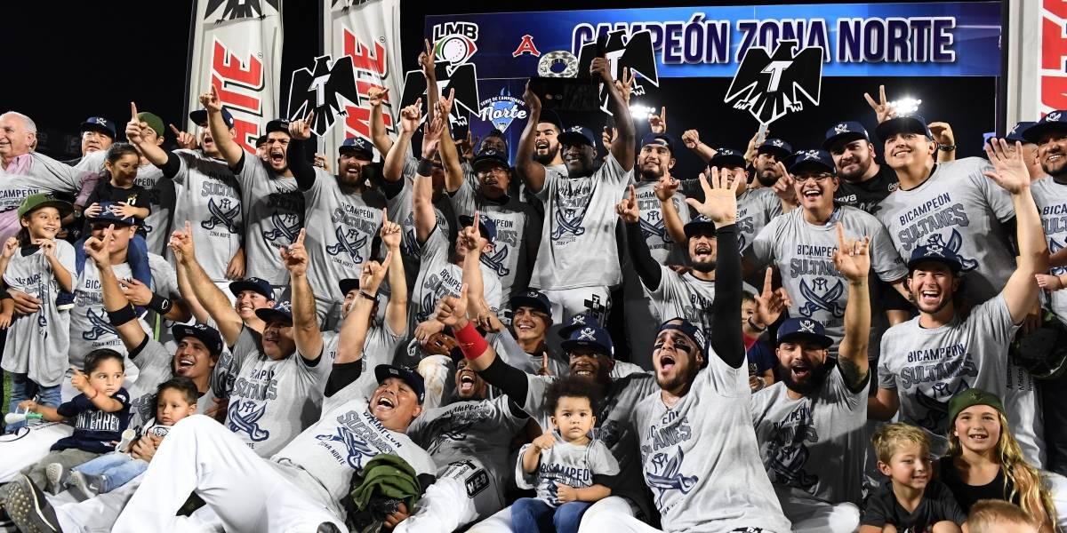 Sultanes es bicampeón de Zona Norte del beisbol mexicano